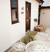 Guests are welcome to relax in our sunny courtyard